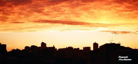 Pôr -do-Sol - Porto Alegre - RS - Brasil