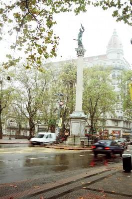 Praça Cagancha - Montevidéu - Uruguay