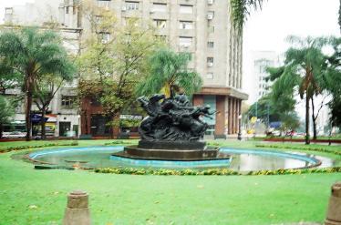 Praça - Montevidéu - Uruguay