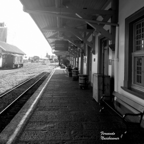 Estação Ferroviaria - Bento Gonçalves - RS -Brasil 02-P&B