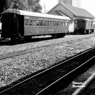 Estação Ferroviaria - Bento Gonçalves - RS - Brasil (P&B)